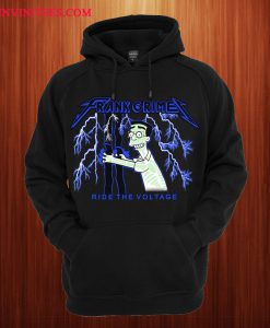 Frank Grimey Ride The Voltage Hoodie