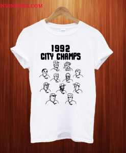 The Simpsons 1992 City Champs T Shirt
