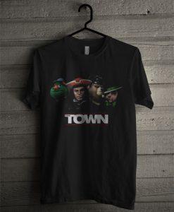 The Town Black T Shirt