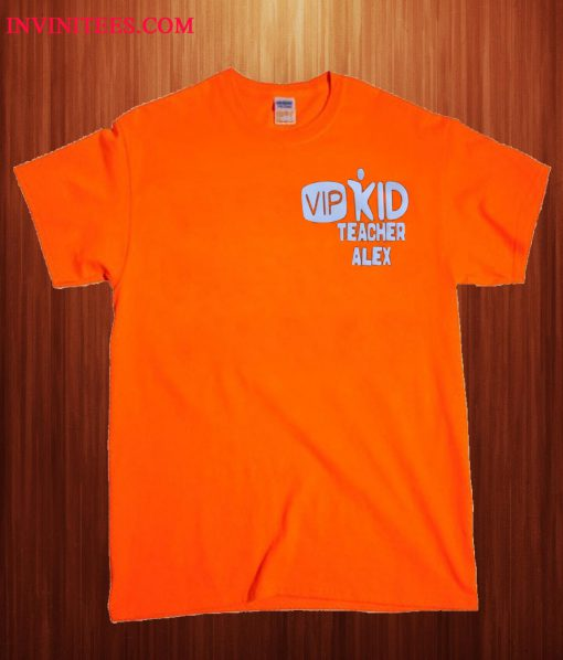 VIP KID Teacher Alex T Shirt
