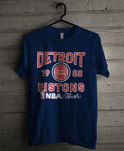 80s NBA Pistons Vintage T Shirt