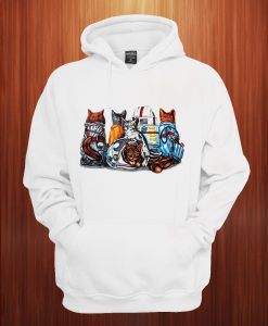 Cat Kennedy Space Center Hoodie