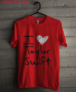 Taylor Swift Red I Heart T Shirt