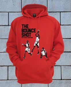 The Bounce Shot By Kawhi Leonard Hoodie