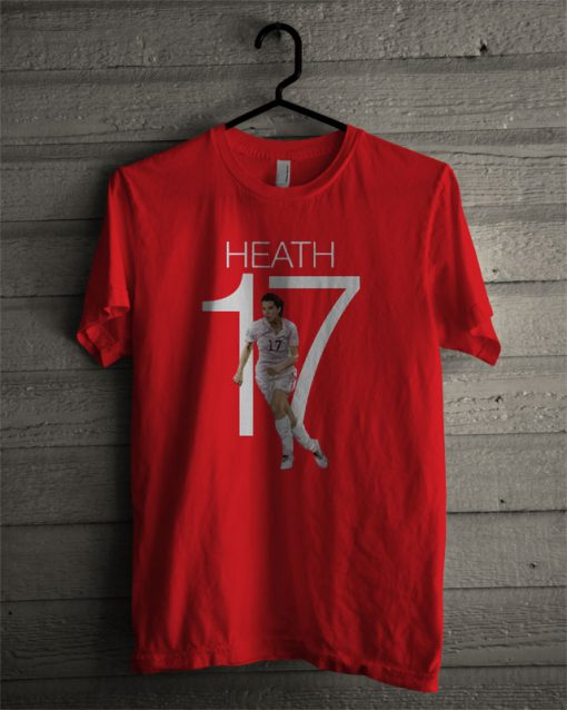 Tobin Heath 17 USWNT T Shirt