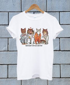 kennedy Space Center Cat T Shirt