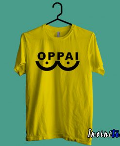 Hero Saitama One Punch Man Oppai Funny T shirt