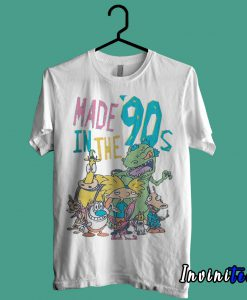 Made In 90'S Old School Cartoons T shirt