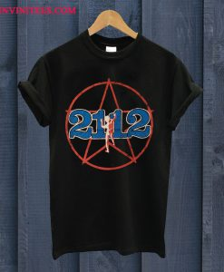 Rush 2112 Black T Shirt