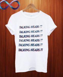 Talking Heads Vintage T Shirt