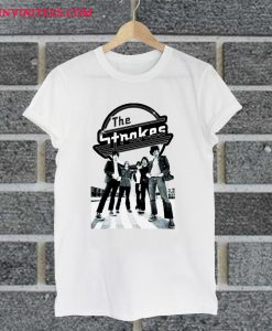 The Strokes Rock Band T Shirt