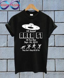 Area 51 5K Fun Run T Shirt