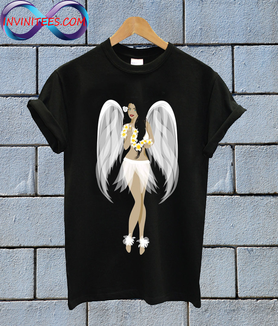 Hula-Girl-Angel-Hawaiian-T-