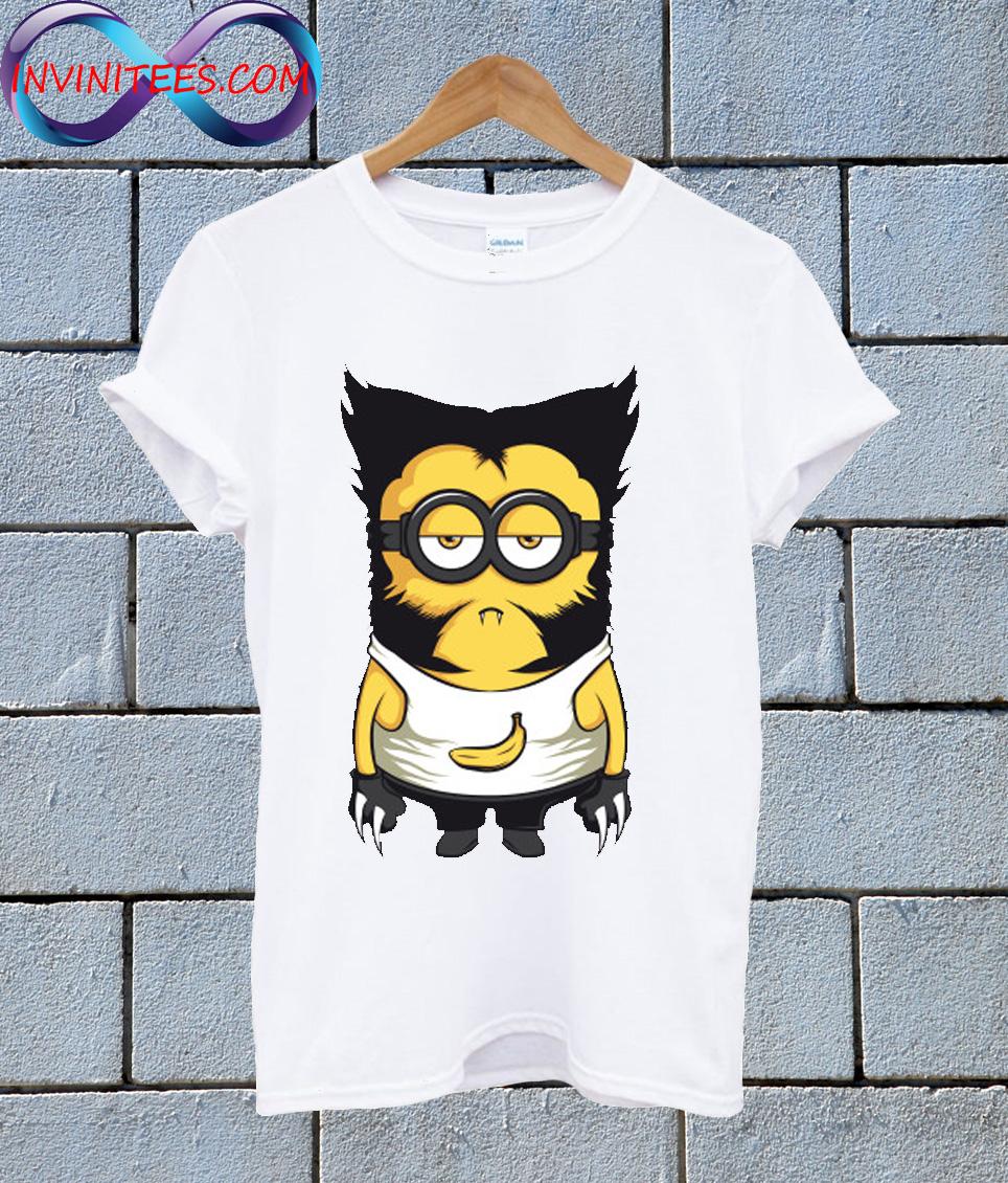 Minion Wolverine T Shirt