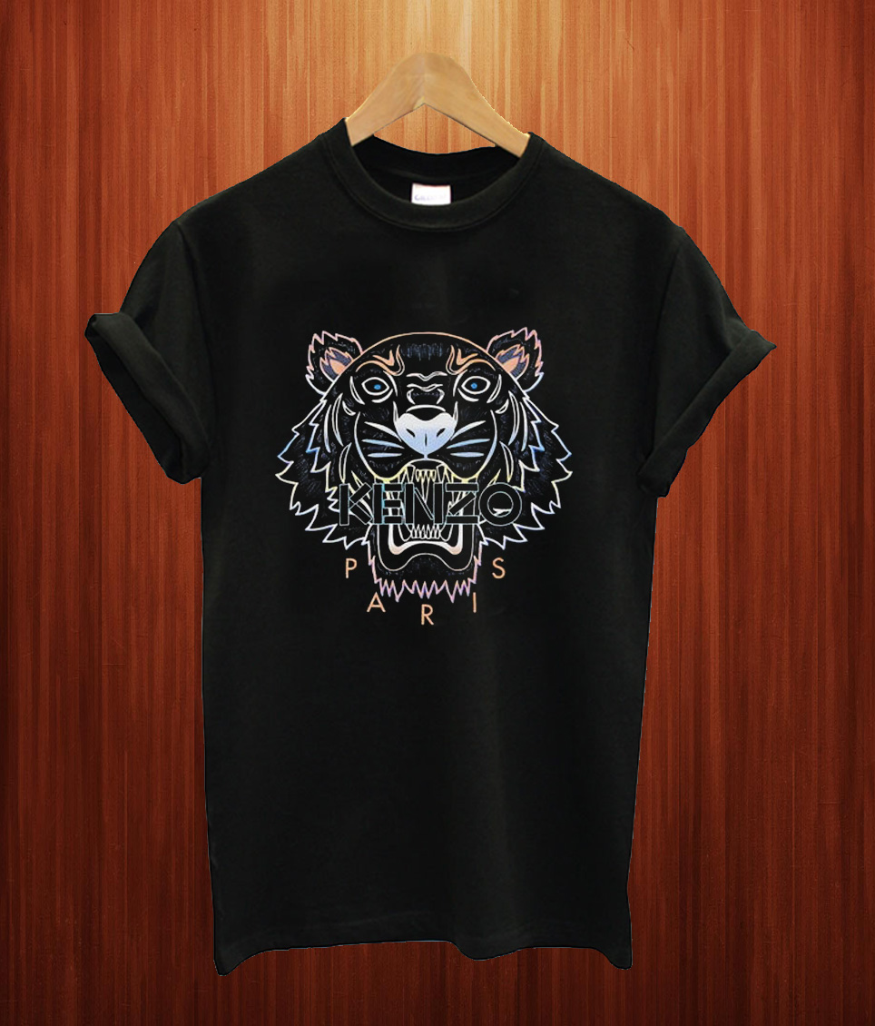 Rainbow Tiger T Shirt
