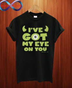 Monsters Inc Men's Mike Wazowski Eye on You T shirt