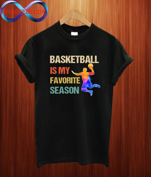 Retro Basketball Is My Favorite Season T shirt