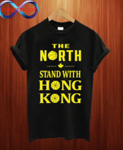 The north stand with hong kong T shirt