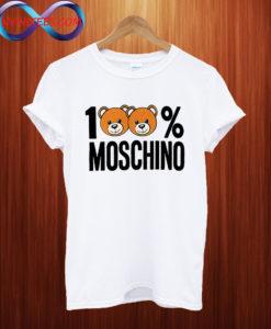 100% Moschino T shirt