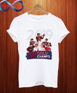2019 Washington Nationals World Series Champions T shirt