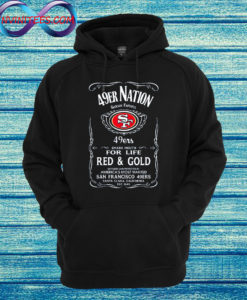 49er Nation Faithful Football Hoodie