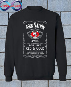49er Nation Faithful Football Sweatshirt