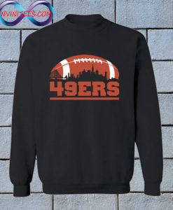 49ers Football Skyline Sweatshirt