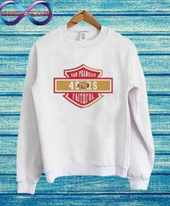 49ers Harley Davidson Sweatshirt