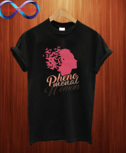 'Butterflies Phenomenal Woman T Shirt