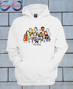 The Office Cartoons Character funny Hoodie