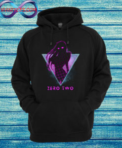 Zero Two Future 80s Darling in the Franxx Hoodie