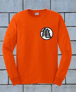 Dragon Ball Z Goku Kame Symbol Sweatshirt