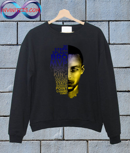 Golden State Warriors Stephen Curry Sweatshirt