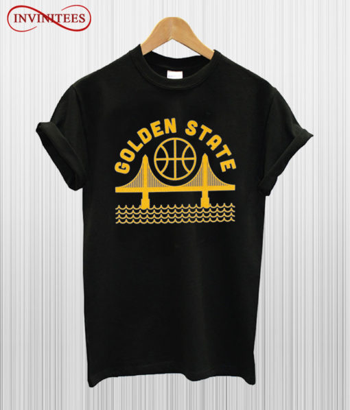 Golden State Warriors Gold T Shirt